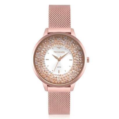Relógio Technos Feminino Crystal