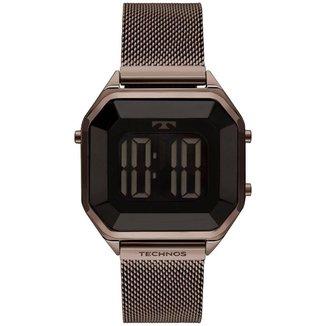 Relógio Technos Feminino Digital Marrom BJ3851AL/4P BJ3851AL/4P