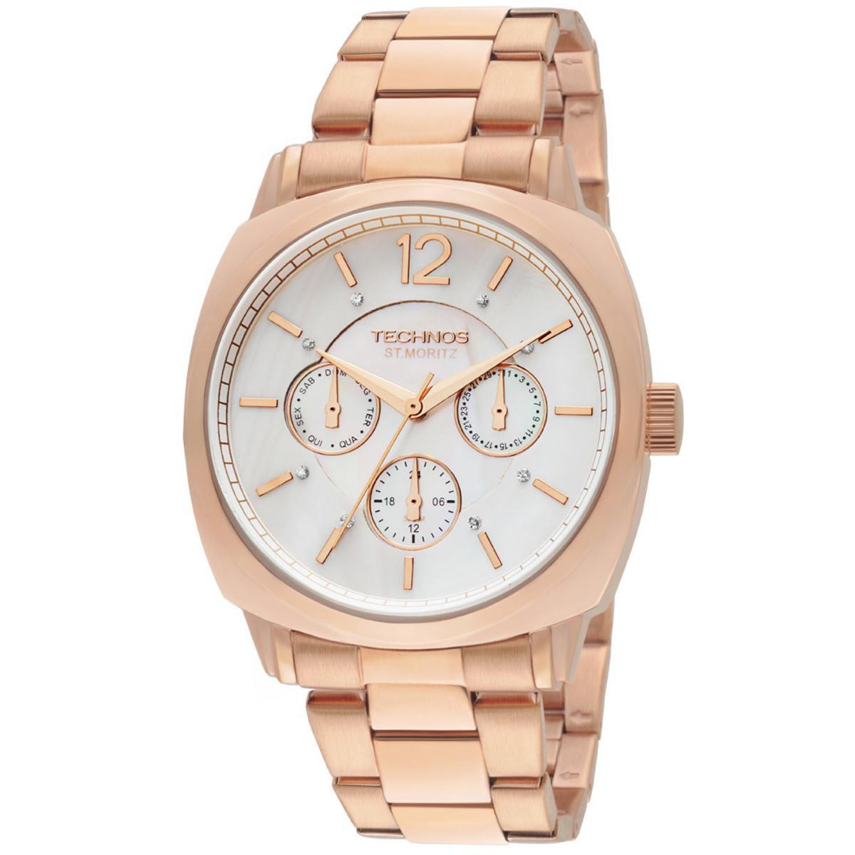 9e3f7a7a597 Relógio Technos Feminino Rose Gold - 6P29AEG 4B 6P29AEG 4B - Compre Agora