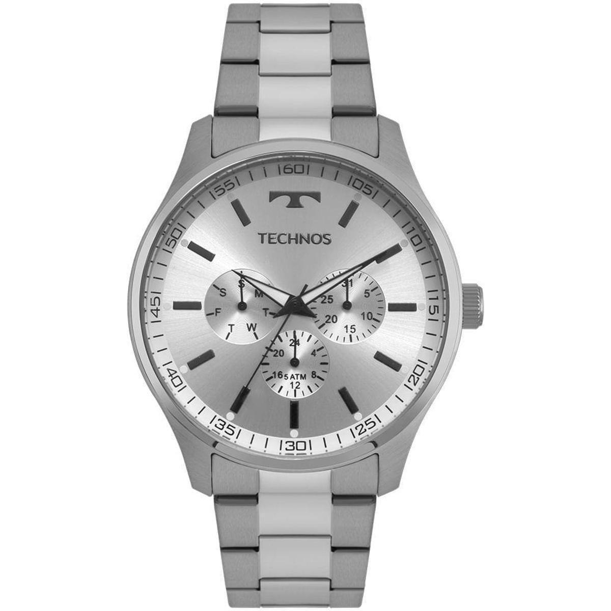 92da867c9b608 Relógio Technos Masculino Steel - 6P29AJO 1K 6P29AJO 1K - Prata ...