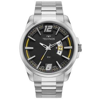 Relógio Technos Performance Racer Prata 2117LCUS1P Masculino