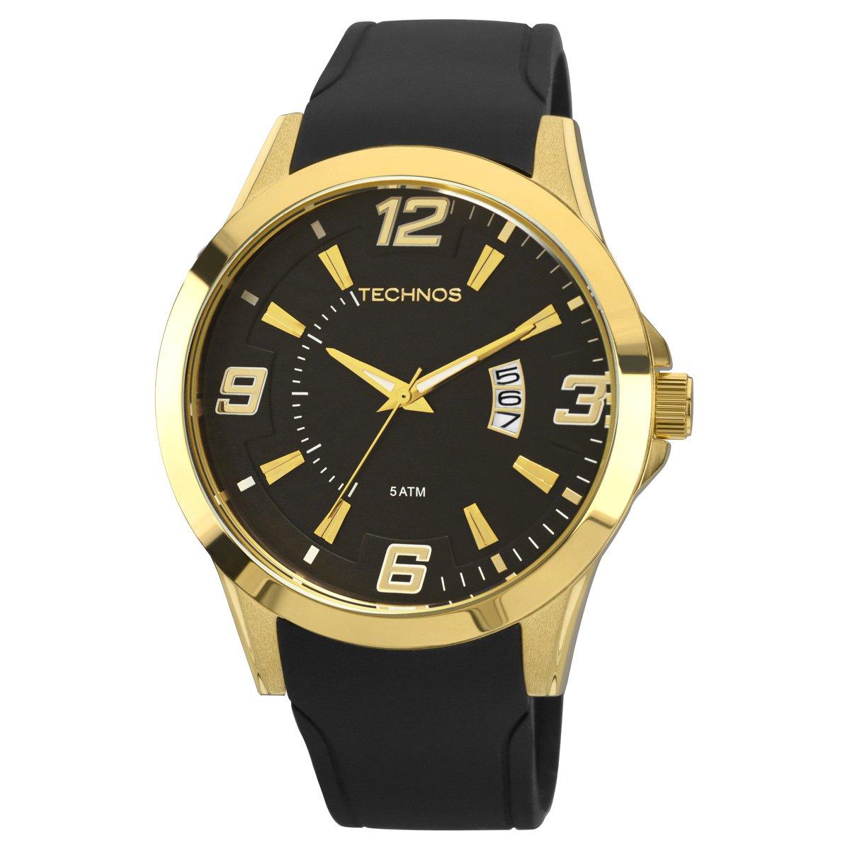 Relógio Technos Pulseira de Silicone - Compre Agora   Zattini 48f37c9266