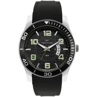 Relógio Technos Racer Prata 2115KSR8V Masculino