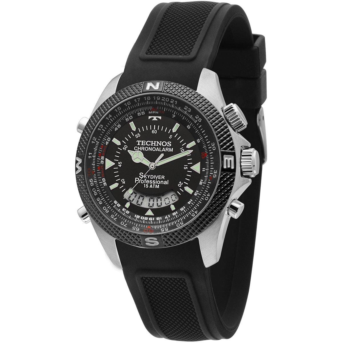 Relógio Technos Skydiver - Compre Agora   Zattini 76257ce031