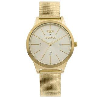 Relógio Technos Trend 2039BD/4D Dourado 2039BD/4D