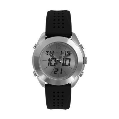 Relógio Touch Masculino - Masculino-Prata