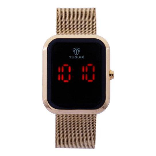 Relógio Tuguir Digital TG110 Feminino - Dourado
