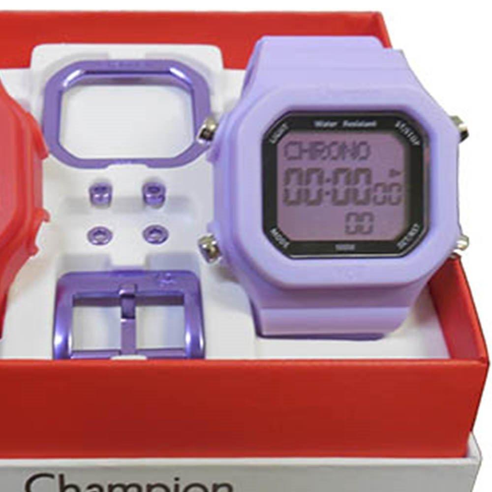 e5e30581082 Relógio Unissex Champion Digital Cp40180x Troca Pulseira - Compre ...