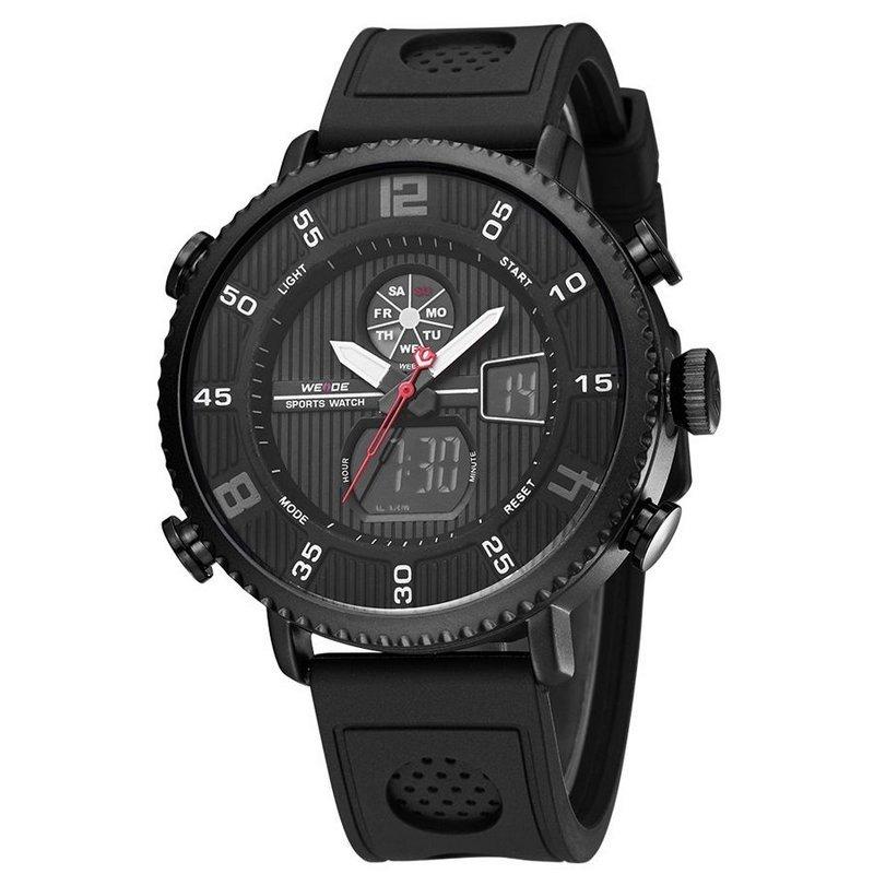3e58587f53a Relógio Weide Anadigi WH6106  Relógio Weide Anadigi WH6106 ...