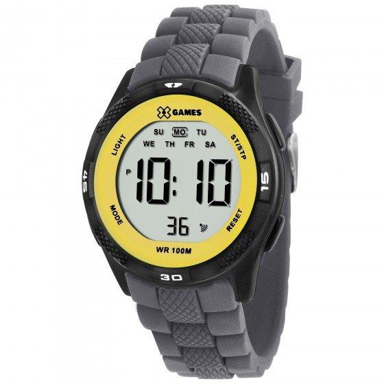 12019ec3103 Relógio XGames XMPPD369 BXGX - Cinza e Amarelo - Compre Agora