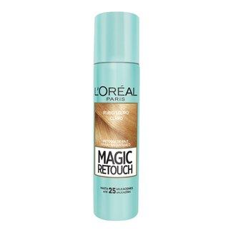 Retoque de Raiz L'Oréal Paris Spray Instantâneo Magic Retouch Louro Claro, 75ml