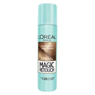 Retoque de Raiz L'Oréal Paris Spray Instantâneo Magic Retouch Louro Escuro, 75ml