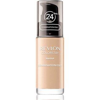 Revlon Base Colorstay Comb/Oily Skin Pump cor Natural Beige