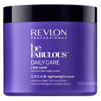 Revlon Professional Be Fabulous Lightweight - Máscara para Cabelos Finos 500ml