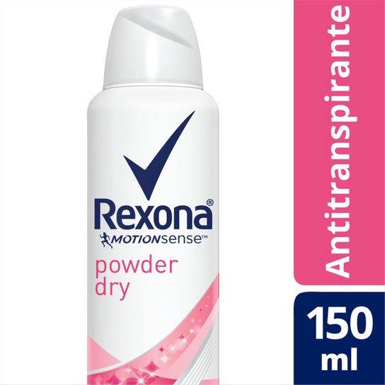 Rexona Desodorante Aerosol Antitranspirante Powder Dry Feminino 150ml - Incolor