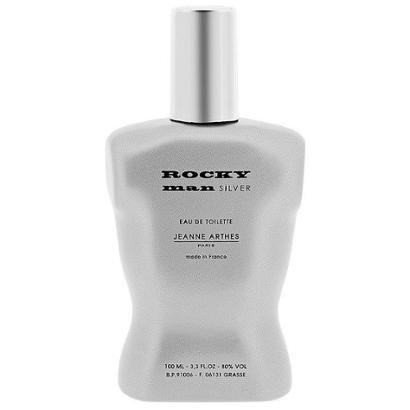 Perfume Rocky Man Silver - Jeanne Arthes - Eau de Toilette Jeanne Arthes Masculino Eau de Toilette