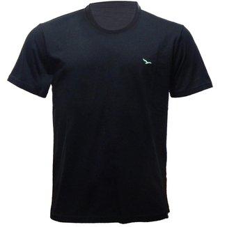 Rx Camiseta Alma De Praia Flamê Gola Redonda