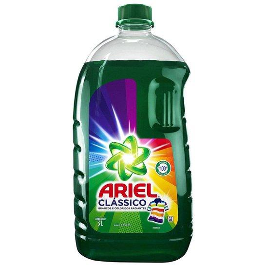 Sabão Líquido Ariel Clássico 3L - Única