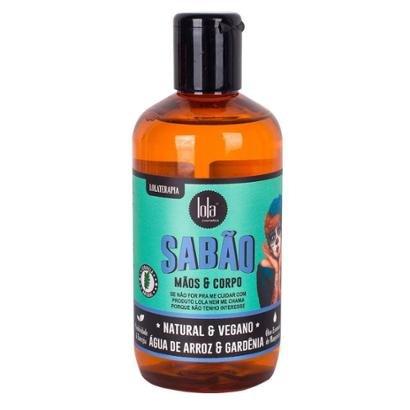 Sabão Para Mãos E Corpo Lola Cosmetics - Água De Arroz E Gardênia 250Ml
