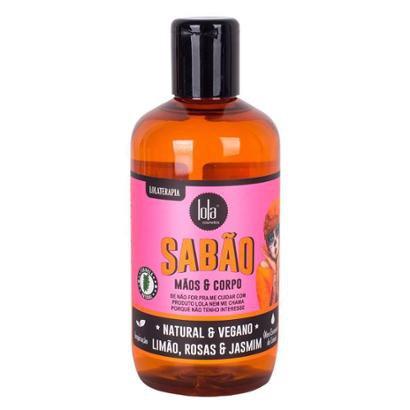 Sabão para Mãos e Corpo Lola Cosmetics - Limão Rosa e Jasmin 250ml