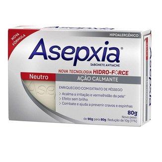 Sabonete em Barra Asepxia - Sabonete Antiacne Neutro 80g