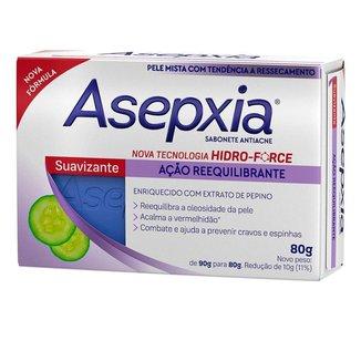 Sabonete em Barra Asepxia - Sabonete Antiacne Suavizante 80g
