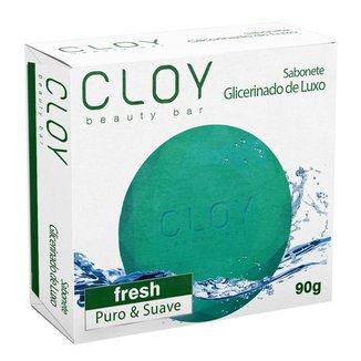 Sabonete em Barra Cloy Beauty Glicerinado Fresh 90g