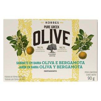 Sabonete em Barra Korres – óleo de Oliva e Bergamota 90g