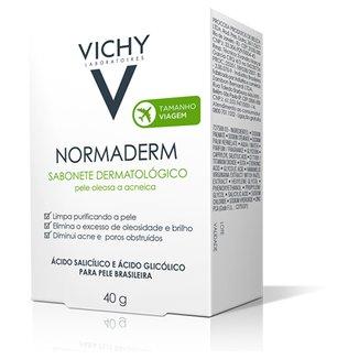 Sabonete em Barra Vichy Normaderm Pele Oleosa e com Acne 40g