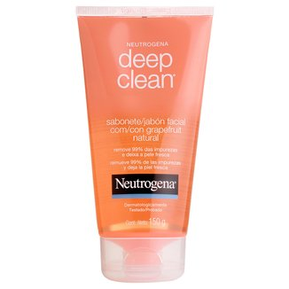 Sabonete Facial Neutrogena Deep Clean Grapefruit 150g