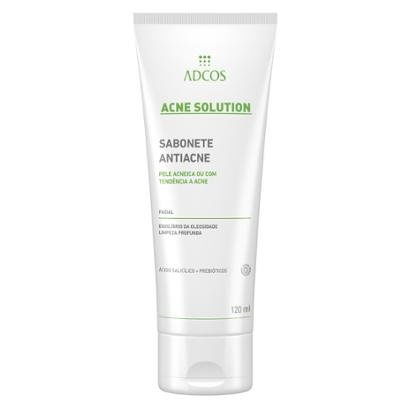 Sabonete Líquido Antiacne Adcos - Acne Solution 120ml