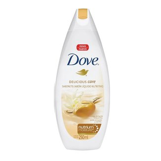 Sabonete Líquido Dove Delicious Care Manteiga de Karité e Baunilha 250ml