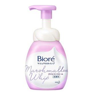 Sabonete Líquido Facial Bioré - Marshmallow Whip Oil Control 150ml