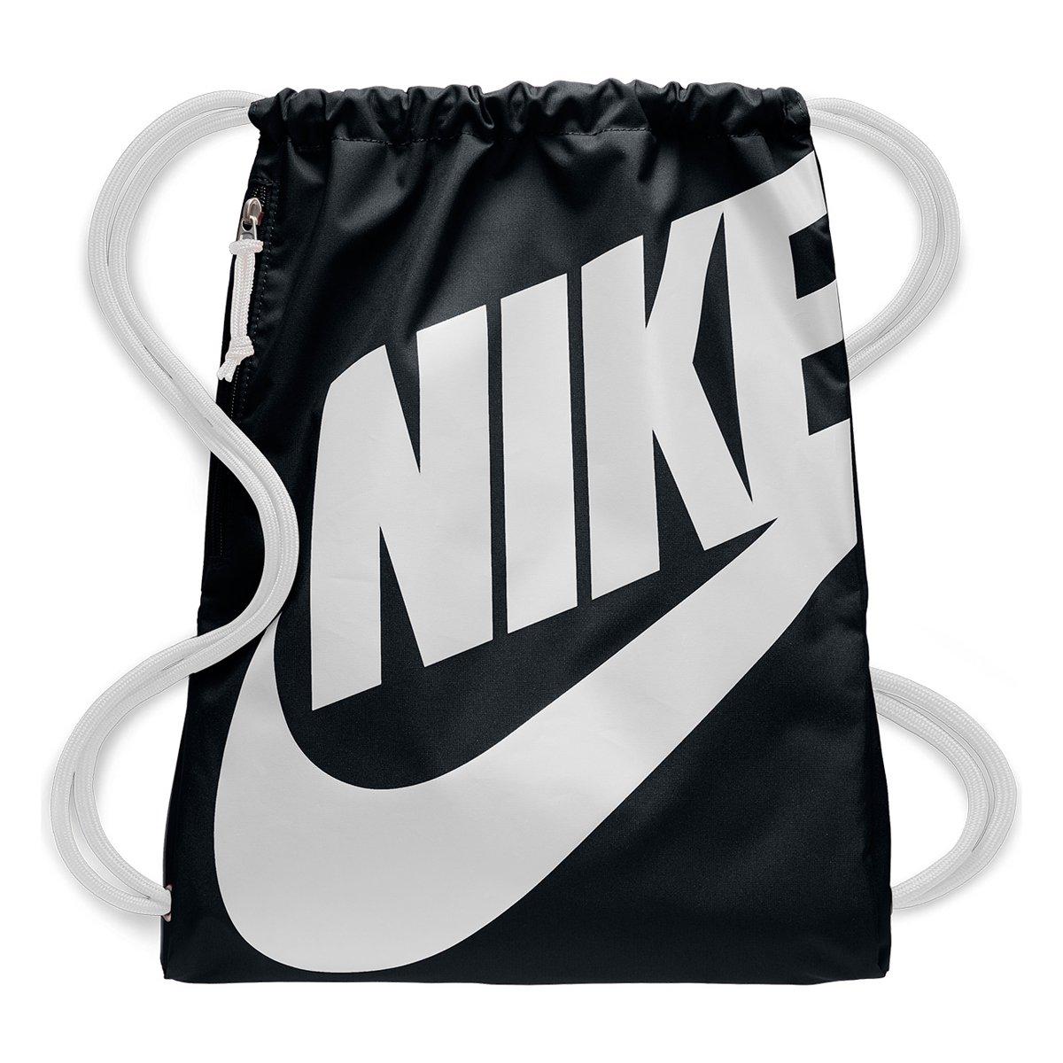 E Branco Gymsack Sacola Heritage Preto Nike Feminina drxWCBoe