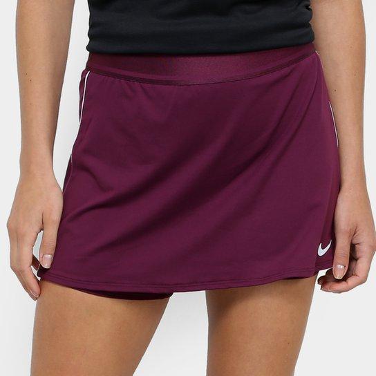 Saia Short Nike Dry - Vinho