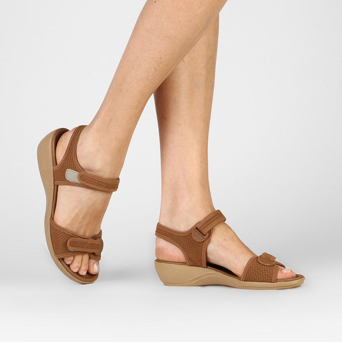1dd4800e6 Sandália Azaleia Conforto Velcro - Compre Agora | Zattini