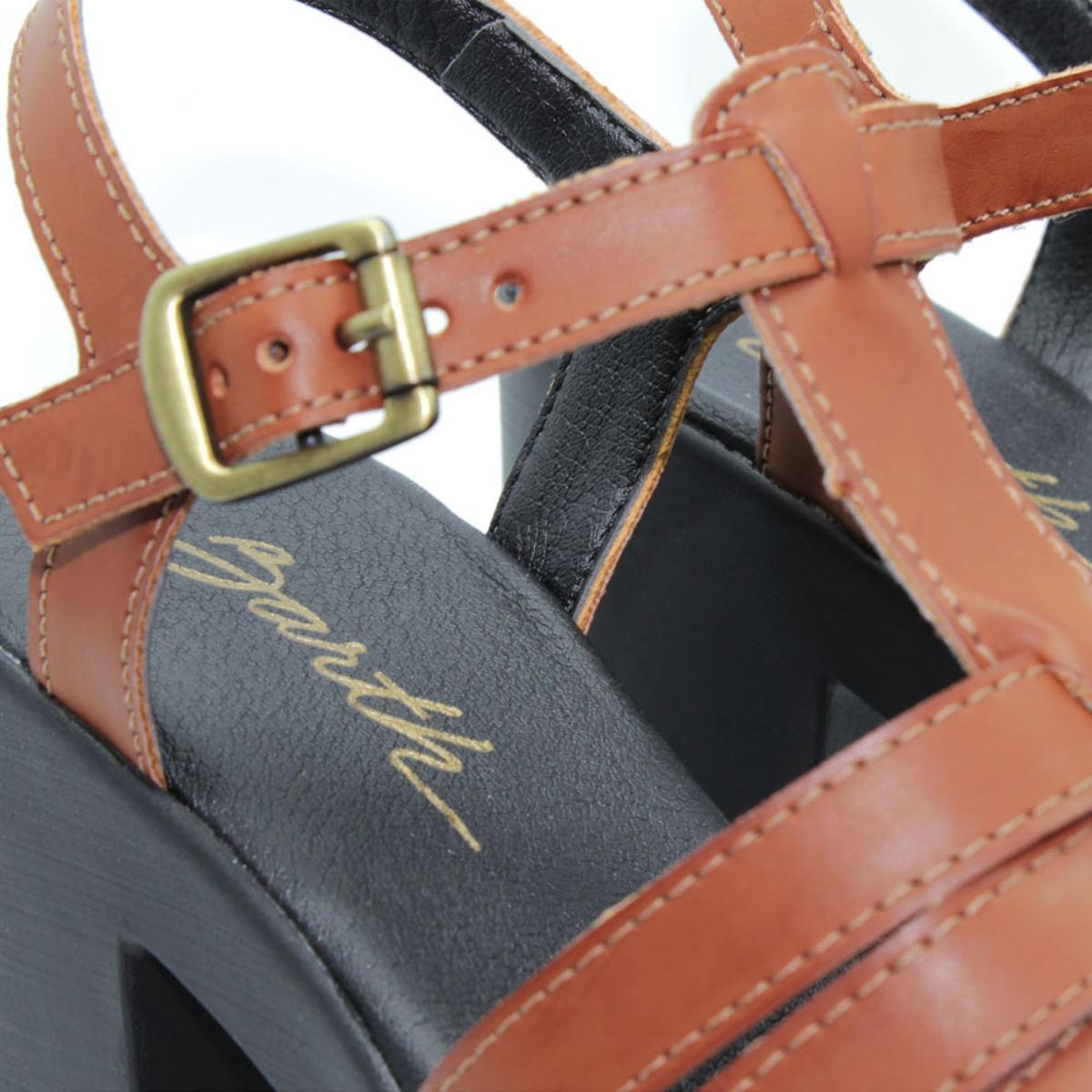 Sandália Barth Shoes Misty Feminina - Preto e Marrom