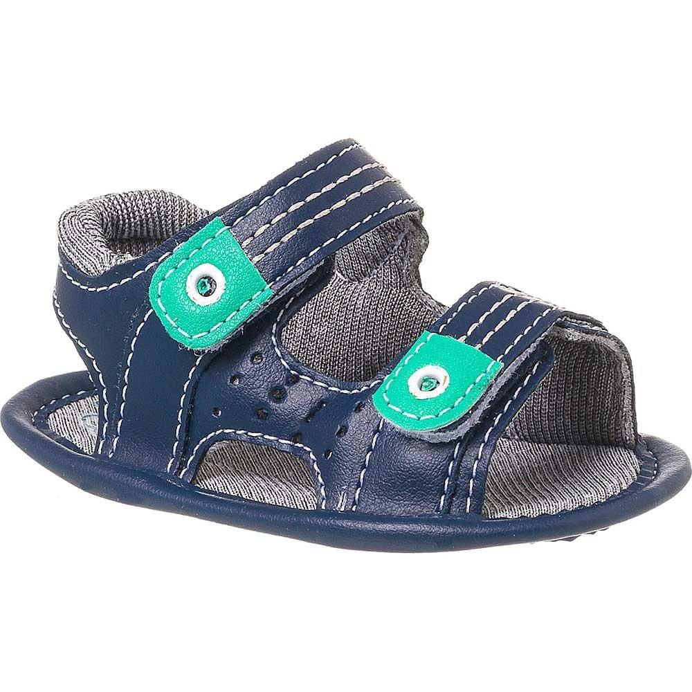 Sandália Klin Azul Masculina Bebê Masculina Recém Klin Recém nascido Bebê Sandália vSwnnxA6I