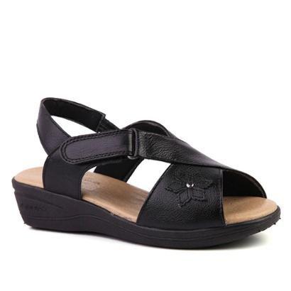 Sandália Couro 7998  Doctor Shoes Feminina-Feminino