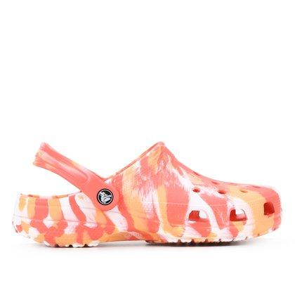 Sandália Crocs Classic Marbled Clog Unissex