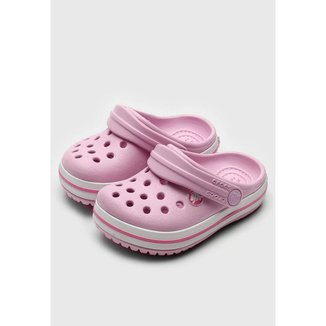 Sandália Crocs Crocband Clog Infantil Ballerina
