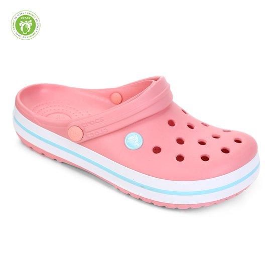 Sandália Crocs Crocband - Rosa