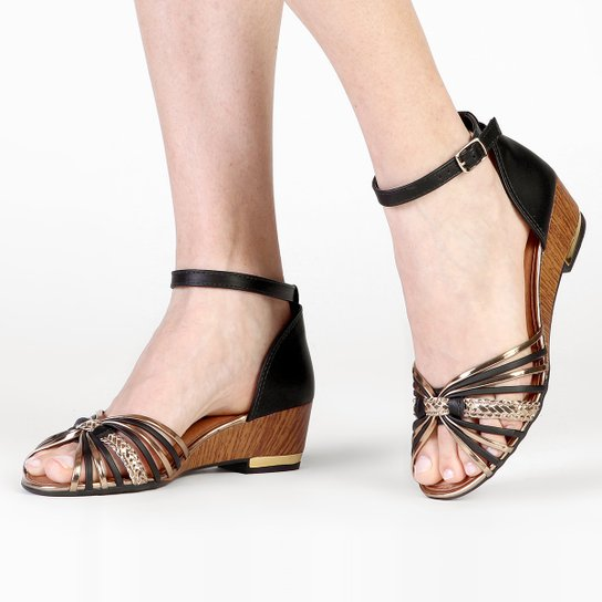 Sandália Dakota Tiras - Preto