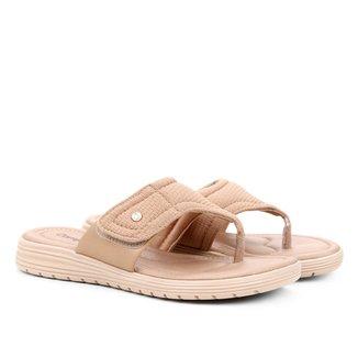 Sandália de Dedo Comforflex Recortes Feminina