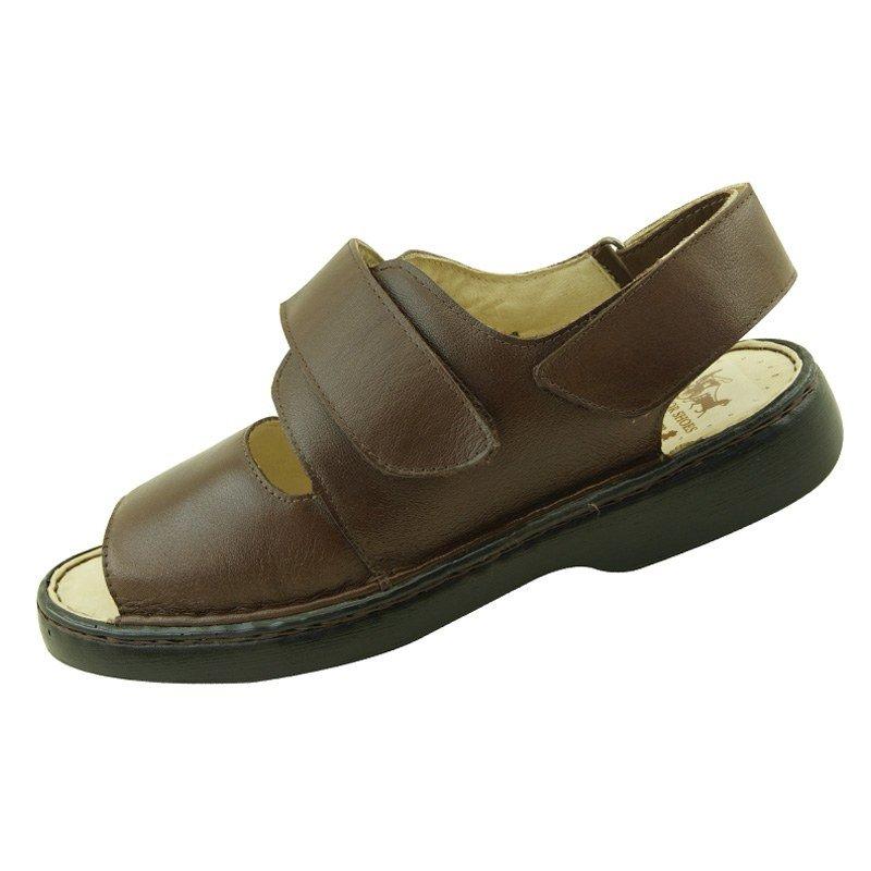 3185793de Sandália Doctor Shoes Comfort 325 - Marrom - Compre Agora | Zattini
