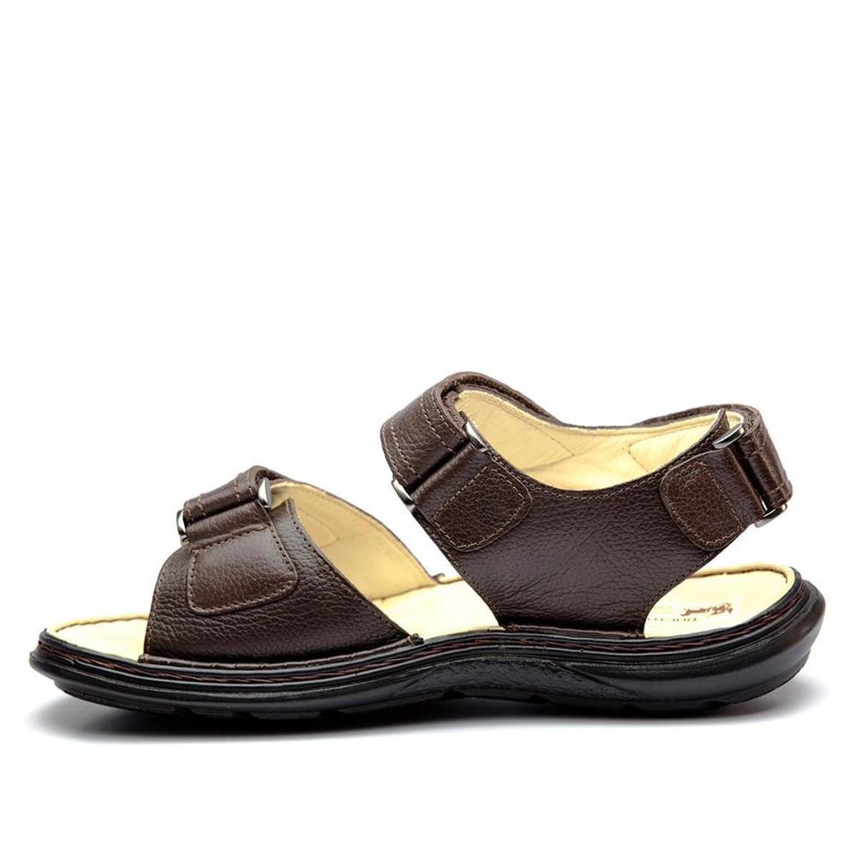 Sandália Doctor Shoes Comfort 917301 - Marrom