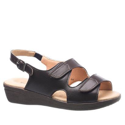 Sandália Doctor Shoes Feminina Couro Feminina
