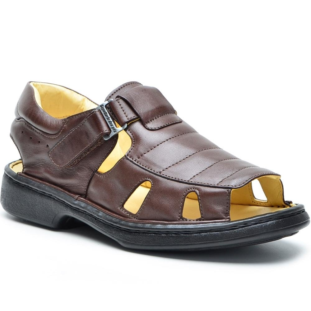 Shoes DR Shoes Conforto Caramelo DR Masculino Sandália Shoes Masculino Sandália Conforto Conforto DR Sandália Caramelo HP4x5Pw