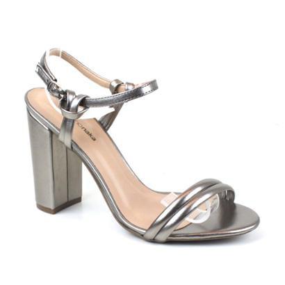 Sandália Emporionaka Metalizado Feminina-Feminino