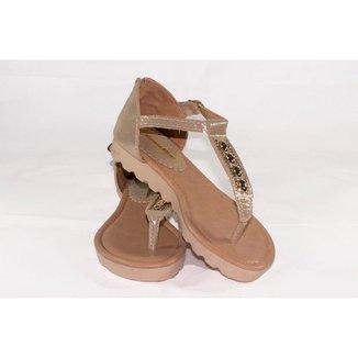 Sándalia Gomes Shoes Aplicações Feminina